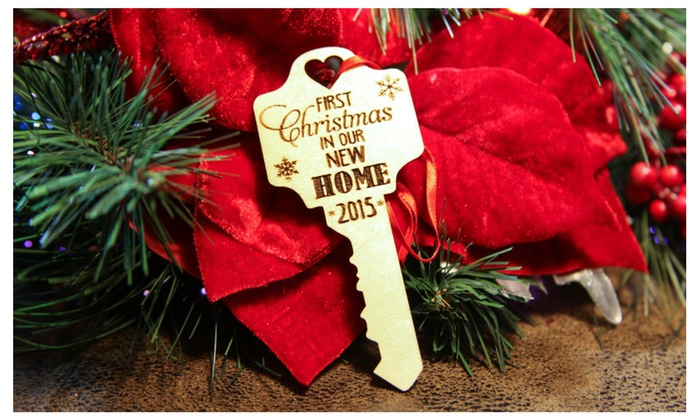 Our First Home Key Ornament | Groupon