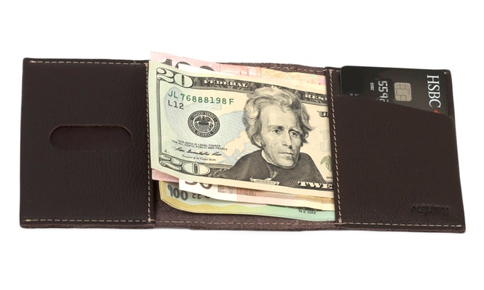 ACE Junky Trifold Genuine Leather Wallet