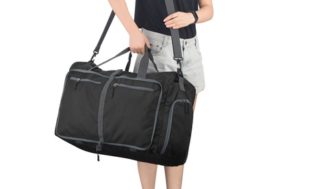 Duffel Gym Bag - Luggage Tote for Overnight/Weekend Trips by Wakeman Outdoors