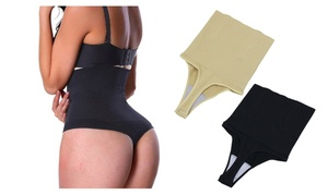 Women High Waist Shapewear Slimmer Control Underwear Hip Corset