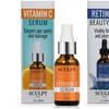 Sculpt Vitamin C Serum and Retinol Beauty Oil