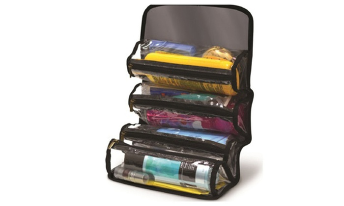 Indispensable For Traveling 4 Pockets Cosmetic Organizer