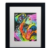 Dean Russo 'What you lookin at' Matted Black Framed Art