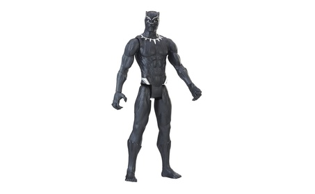 Marvel Black Panther Titan Hero Series 12-inch Black Panther e7a81483-29c8-49df-ac85-fb3c57ad1a6d