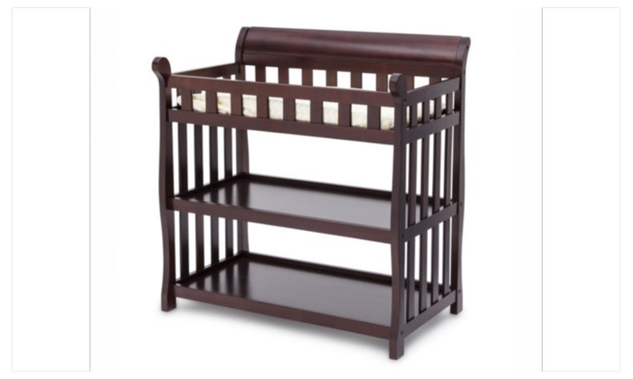 Delta Children Eclipse Changing Table Espresso Cherry