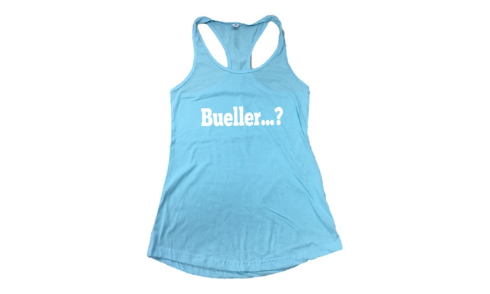 Bueller…? Fitted Women's Tank Top