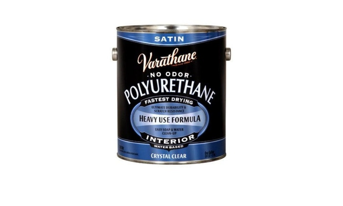 Rustoleum 1 Gallon Satin Interior Water-Based Diamond Polyurethane