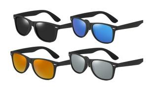 Polarized Sunglasses for Women Men Classic Retro Rivet Shades Glasses