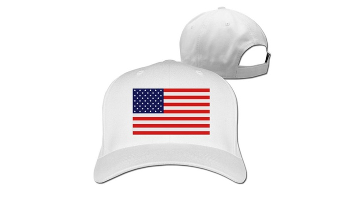 Men's USA Baseball Cap White