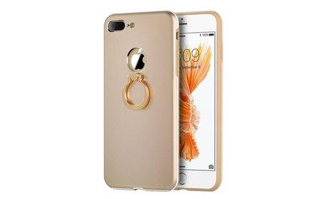 Insten Aluminum Metallic Case w/Ring Stand For Apple iPhone 7 Plus