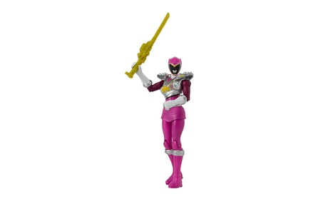 "Power Rangers Dino Charge - 5"" Dino Drive Pink Ranger Action Figure e19afb73-8206-4fb7-a492-bda8d2fa09a7"