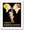 'Porto Ramos Pinto' Canvas Rolled Art