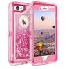 Quicksand Glitter Liquid Case for iPhone 7/8,7/8 Plus, 6/6s, 6/6s Plus
