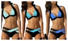 Lewis Judy: Sexy Women Bikini Set Cross Bandage Swimsuit Beachwear Swimwear