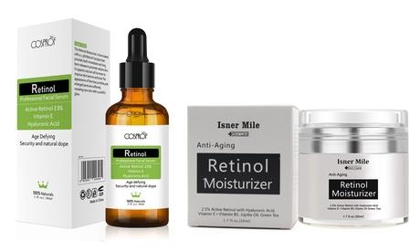Anti Aging Retinol Skin Care Set Retinol Firming Cream Retinol Moisturizer Serum