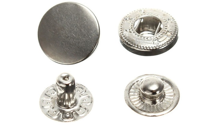 Up To 71% Off on 10mm Press Studs Snap Fastene    | Groupon