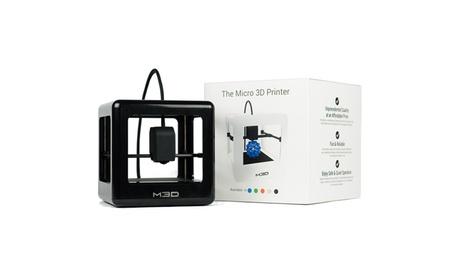 M3D Micro 3D Printer with Black Filament Spool 66aac2f7-cee6-4431-8491-70536f2a85d2