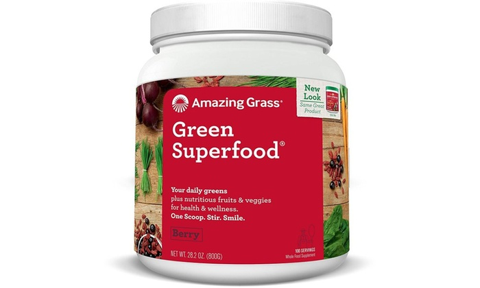 Groupon Goods: Green SuperFood Drink Powder