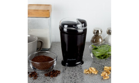 Electric Coffee Bean Grinder with Measuring Lid photo