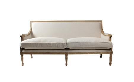 Lafontaine Sofa Linen & Light Oak 86cb950f-5acc-4054-9a49-6d24e6266839