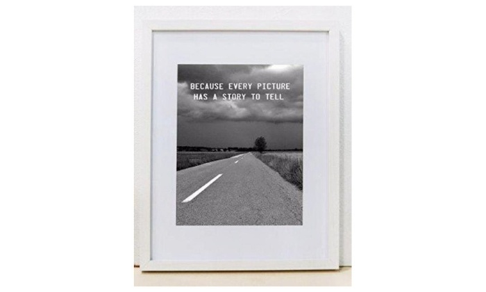 Sixtrees Wd229114 80 11 X 14 In Logan White Wall Hanging Frame