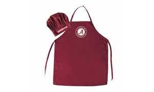 Sports Team Logo NCAA Chef Hat And Apron
