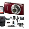 Canon PowerShot ELPH 180 20 MP Digital Camera w/ Accessories