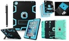 iPad 2/3/4 Shockproof Military Heavy Duty Rubber With Hard Stand Case