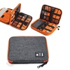 Double Layers Multi-functional Portable Digital Electronics Organizer