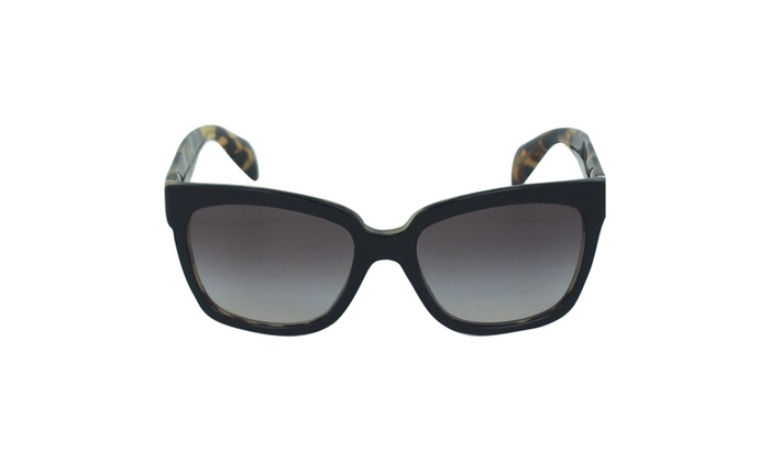 Prada PR 07P NAI0A7 – Top Black/Medium Havana