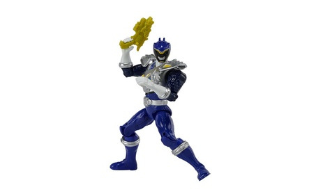 "Power Rangers Dino Charge - 5"" Dino Drive Blue Ranger Action Figure 5c0384f0-428d-49fa-b0d1-5efc0ca03391"