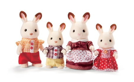 Calico Critters Hopscotch Rabbit Family 84539485-6a29-41a6-88eb-763fa50987f7