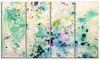 Color Splatter - Abstract Canvas Art Print