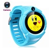"""1.22"""" Touch Kids GPS Tracker Smart Watch With Camera"""