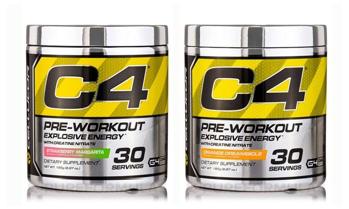 Cellucor C4 Pre-Workout Powder Supplement 30 Serving