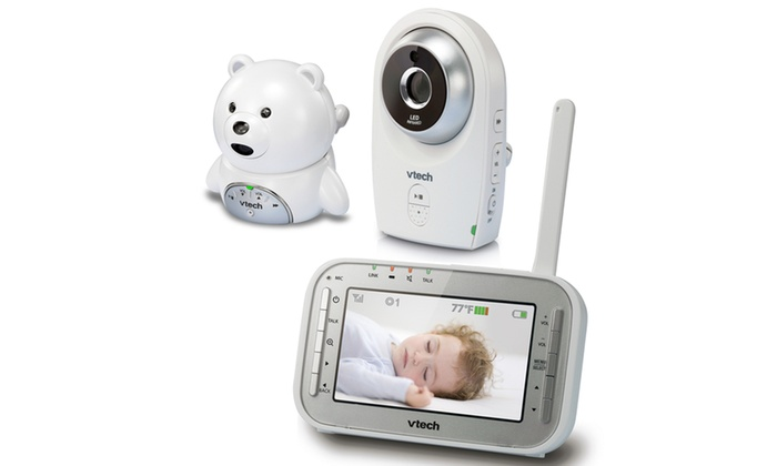 4246cc4a45d60 VTech VM341-216 Video Baby Monitor with Two Cameras and Night Vision