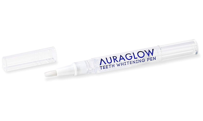 Up To 52 Off On Auraglow Teeth Whitening Pen Groupon Goods