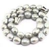 Freshwater Pearl Beads Knot Magnetic Clasp Chocker Necklaces