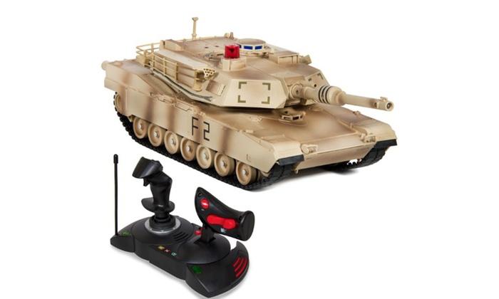 1/14 Scale RC Military Tank Gravity Sensor Car- Camouflage