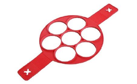 Nonstick Pancake Maker Mould Silicone Omelette Egg Ring Maker aa3f2430-3b09-4808-bcdf-16c3d648da51