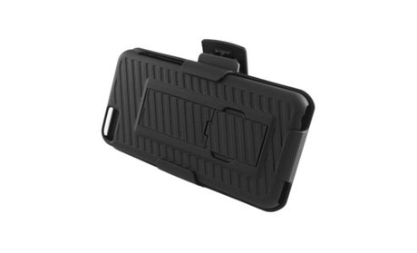 Heavy Duty Defender Shockproof Case with Belt Clip Holster for...