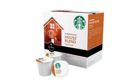 Starbucks 110769 House Blend Coffee K-Cups, 16 K-Cups 50fc53bd-6b7b-4565-943a-6e0b0aae07b2