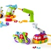 Build and Play Take-A-Part Toys Vehicle Set Includes Power Drill Tool
