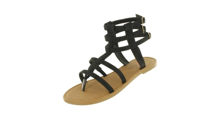 Red Circle Women's Wizard Gladiator Sandals
