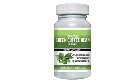Pure Green Coffee Bean Extract Max Strength (1-, 2-, 3- or 6-pack)