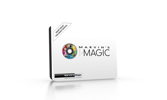 Marvins Magic Interactive Tin Of Tricks And Mind Blowing Card