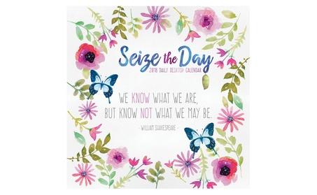 2018 Seize the Day Daily Desktop Calendar 81dc13de-c831-4cf6-ac6f-829f85c4d472