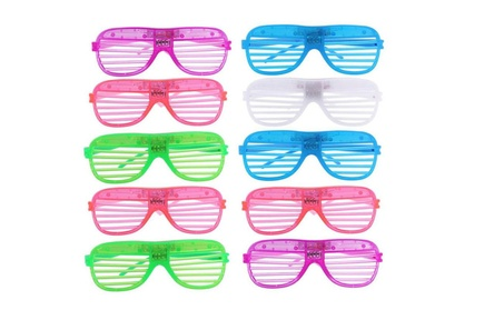 LED Flashing Glasses Glowing Eye Glasses Light Up Kids Toys Glow Party 14235ab4-db62-4339-aa88-e9d1909916be