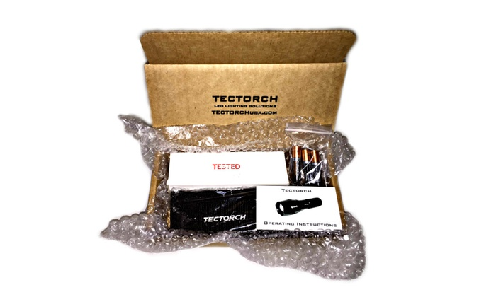 Tectorch Z900 Tactical Zoom LED Flashlight Kit
