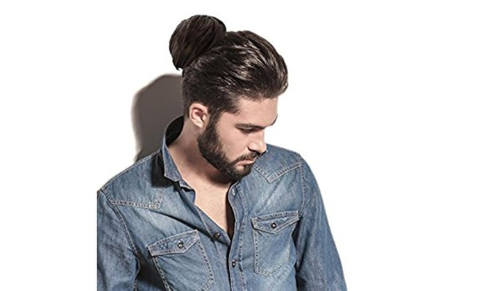 Original clip on man bun livingsocial - Chignon original ...